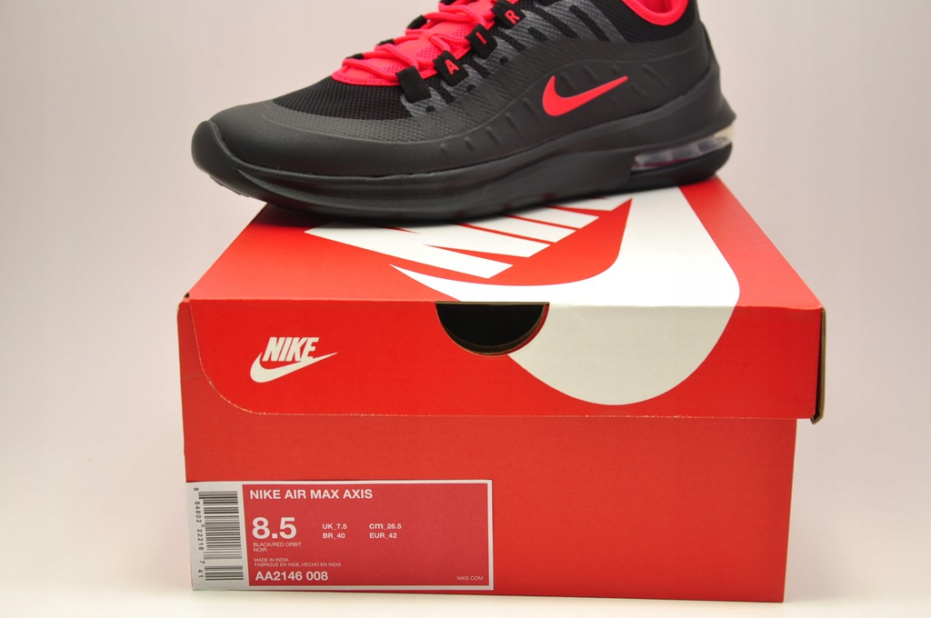 Nike Air Max Axis blackred orbit (męskie) (AA2146 008) od