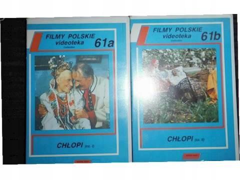 Chłopi 2 części - VHS kaseta video