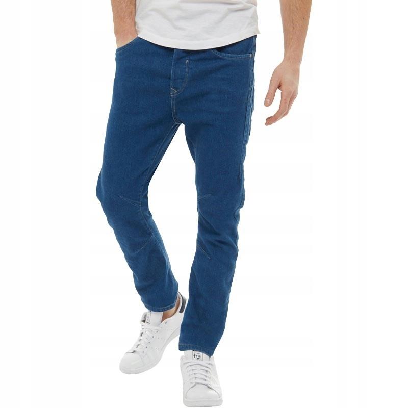 JACK & JONES LUKE spodnie ANTI FIT SLIM W31 32