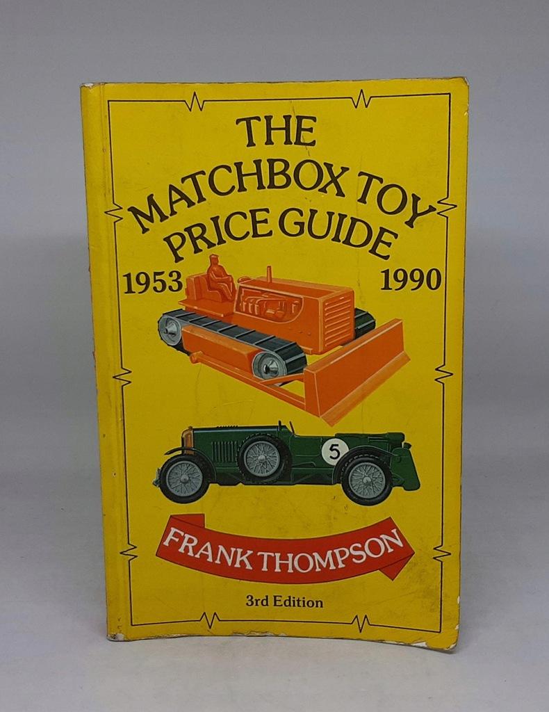 MATCHBOX TOY PRICE GUIDE 1953-1990 CENNIK/KATALOG