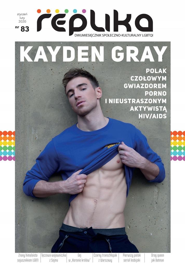 Replika nr 83 magazyn LGBT styczeń/luty 2020