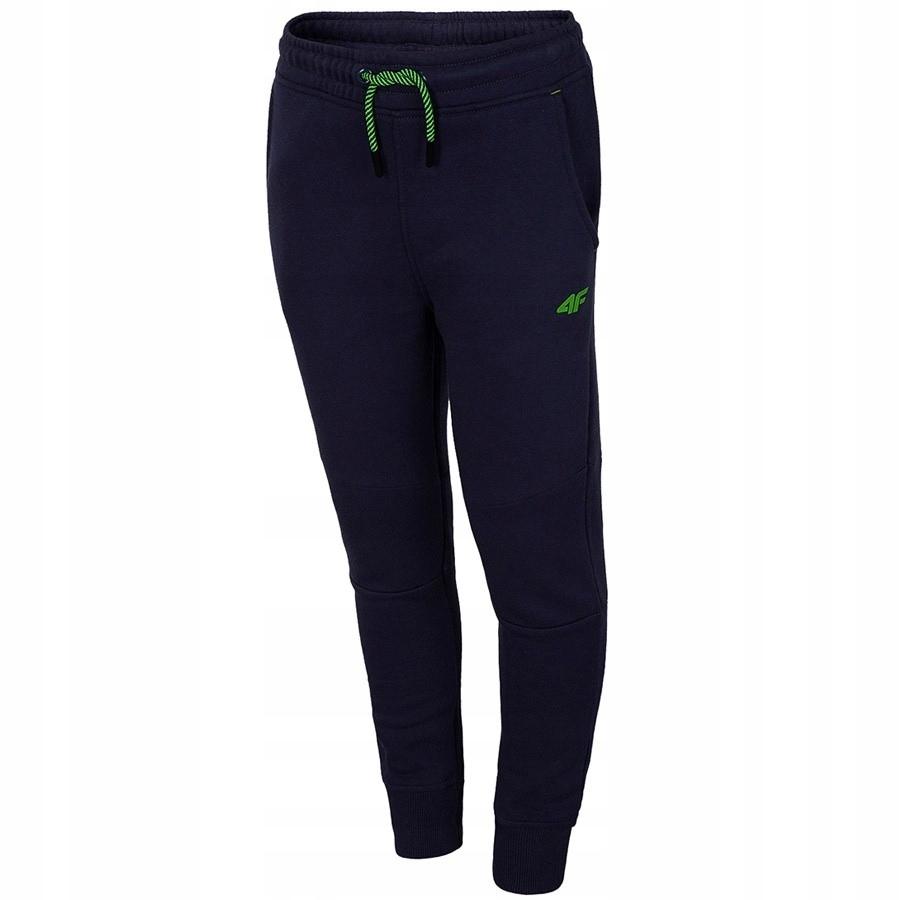 Chłopięce spodnie dresowe 4F JSPMD004 # 134 cm