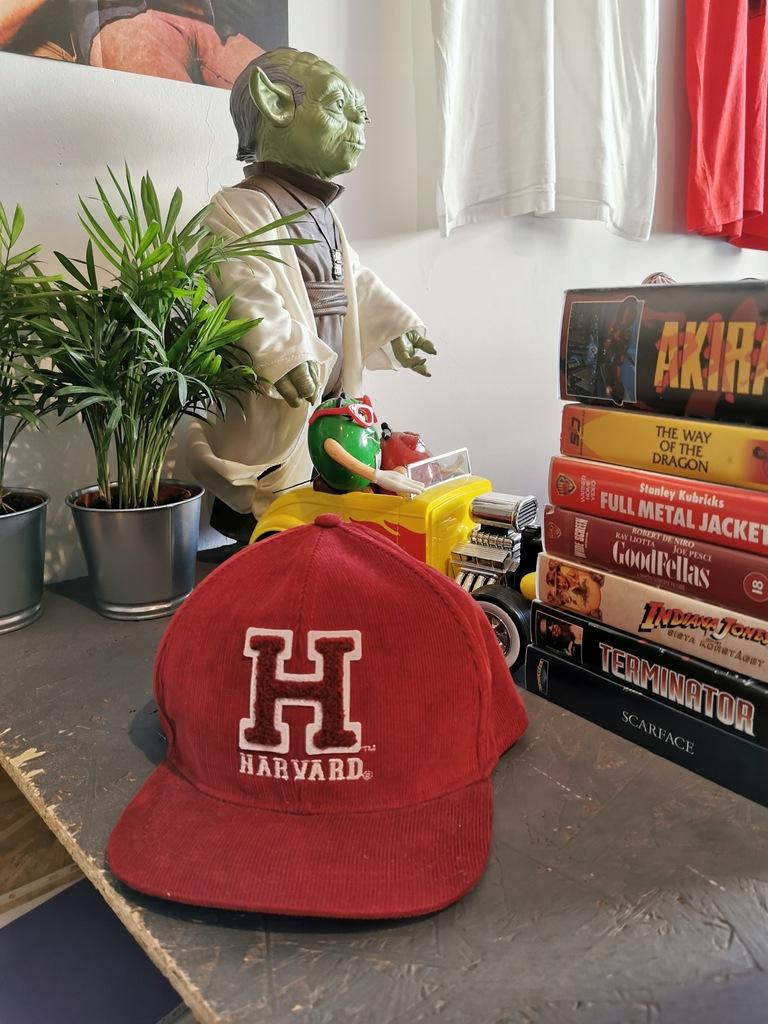 Hanstore czapka H&M Harvard sztruks