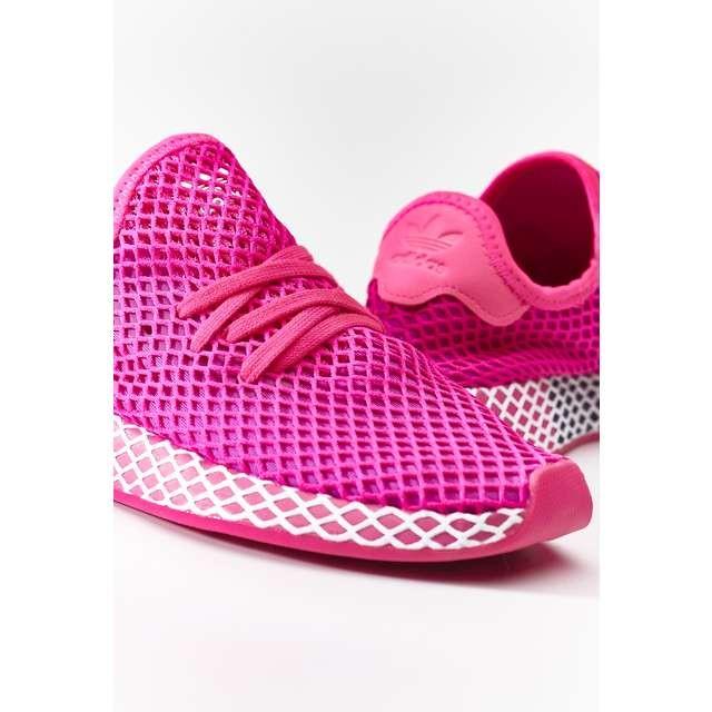 adidas DEERUPT RUNNER W SHOCK PINK VIVID PINK CLOUD WHITE 38