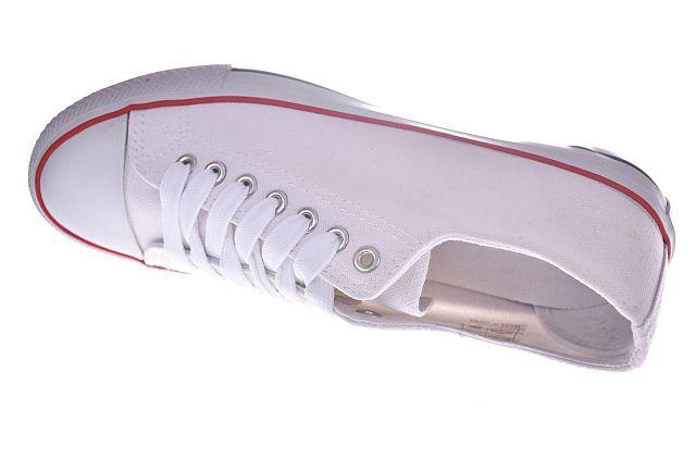 Białe trampki niskie półtrampki męskie C1303 r. 43