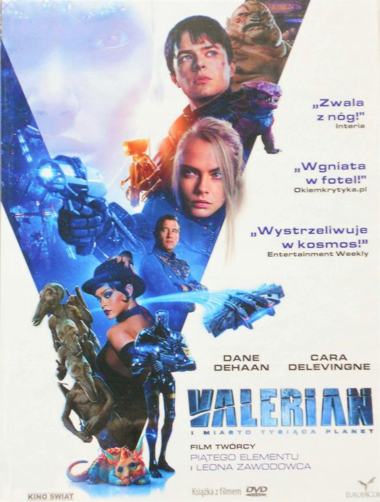 VALERIAN - DVD + KSIĄŻKA