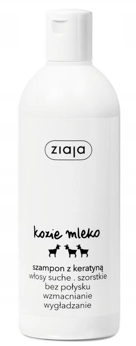 Ziaja Szampon do Włosów 400ml KOZIE MLEKO
