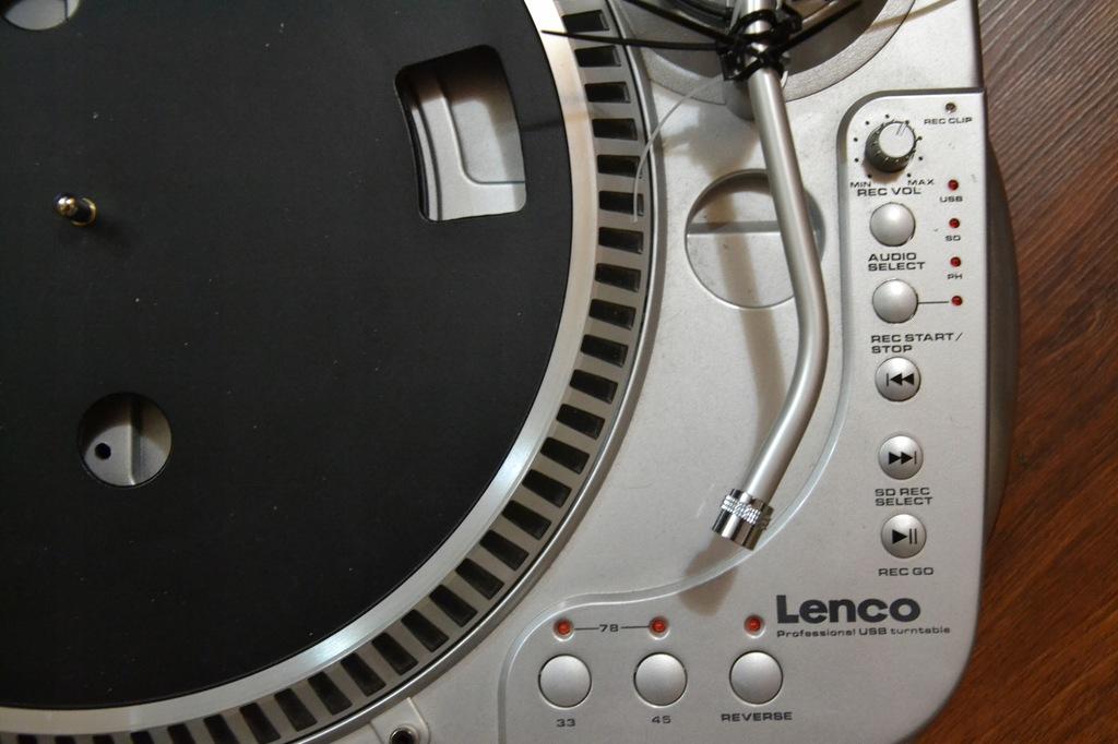}GRAMOFON USB-PC-REC=Bez igły->DJ-DOM- FOTO!!!