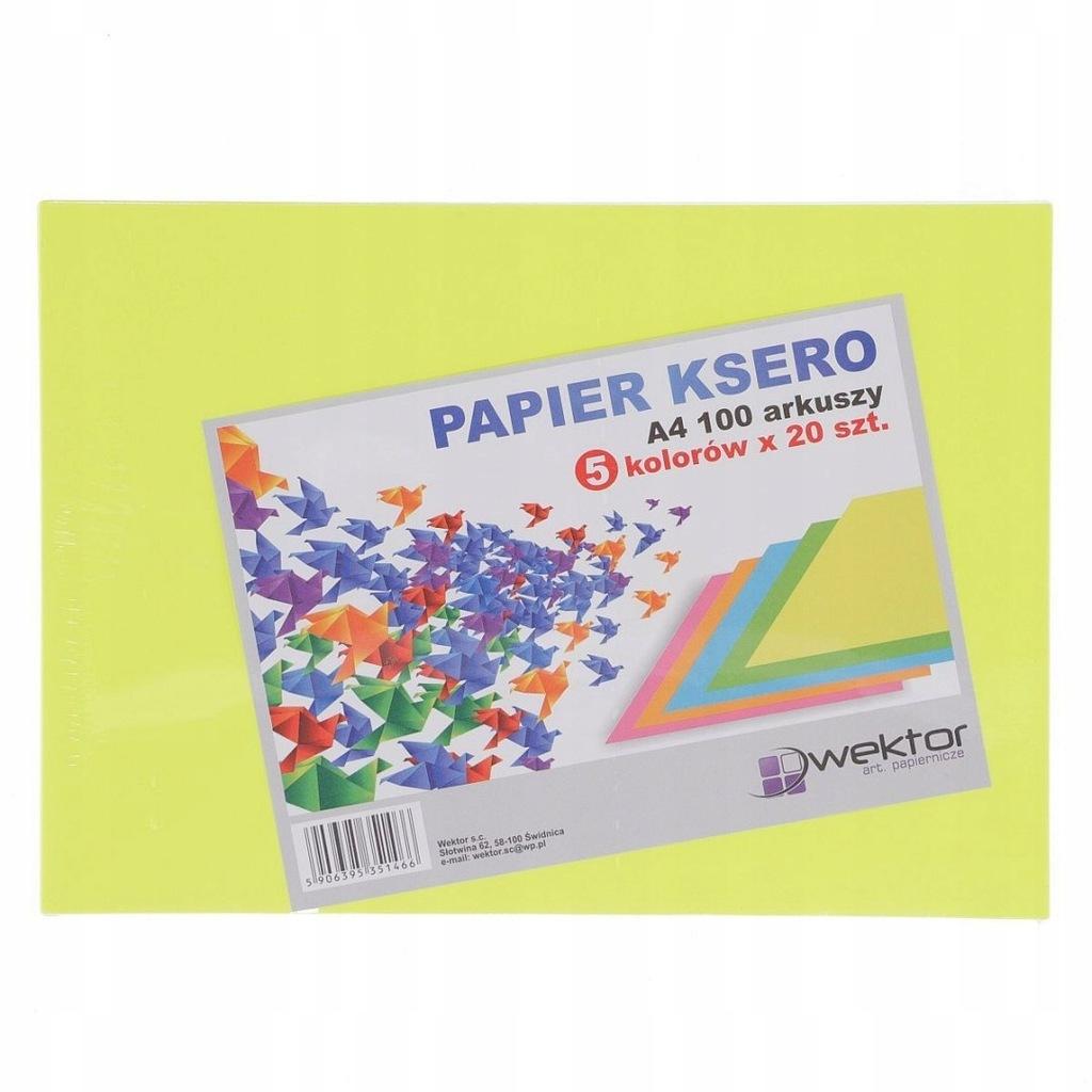 Papier kolorowy Indeks A4 - mix (5906395351466)