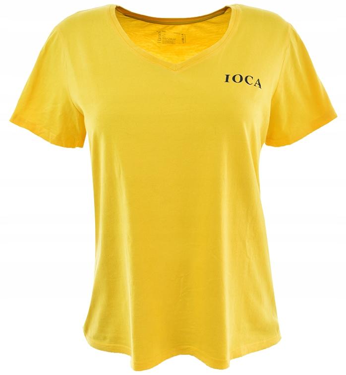 cBR1635 bawełniany t-shirt z napisem 44