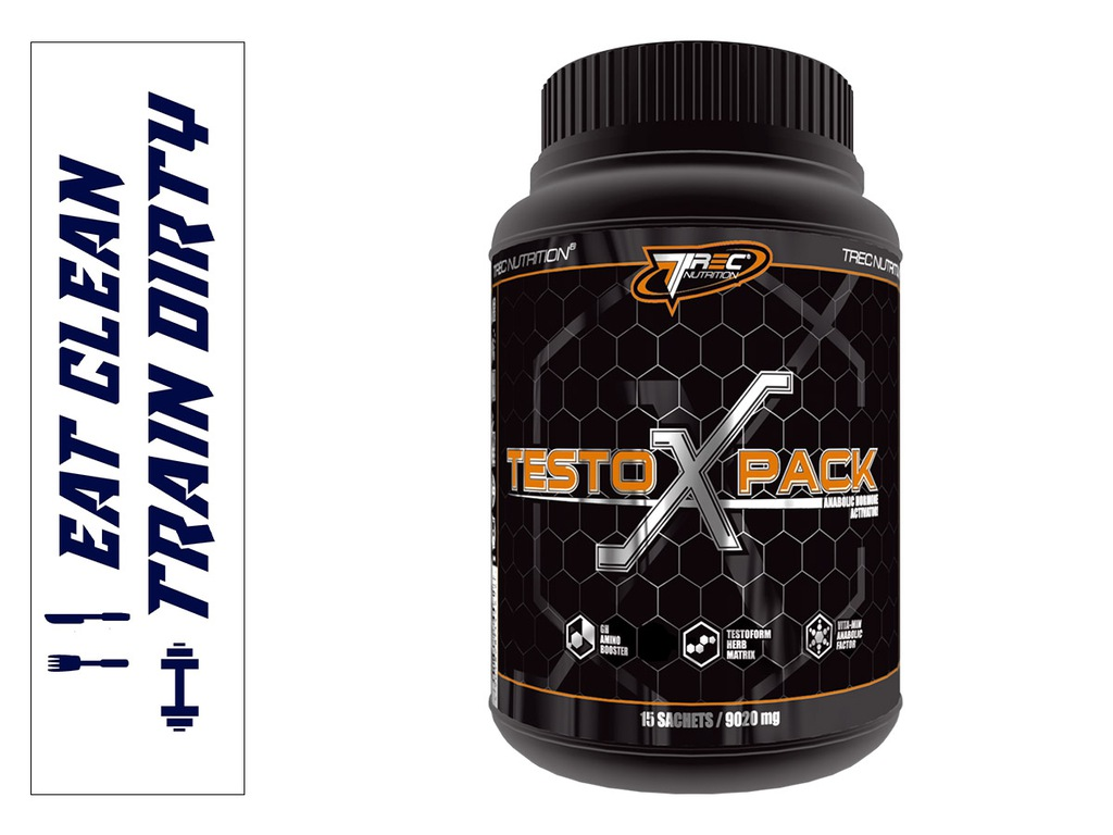 TREC TESTO(X)PACK 30 sasz ANIMAL MEGA TESTOSTERON!