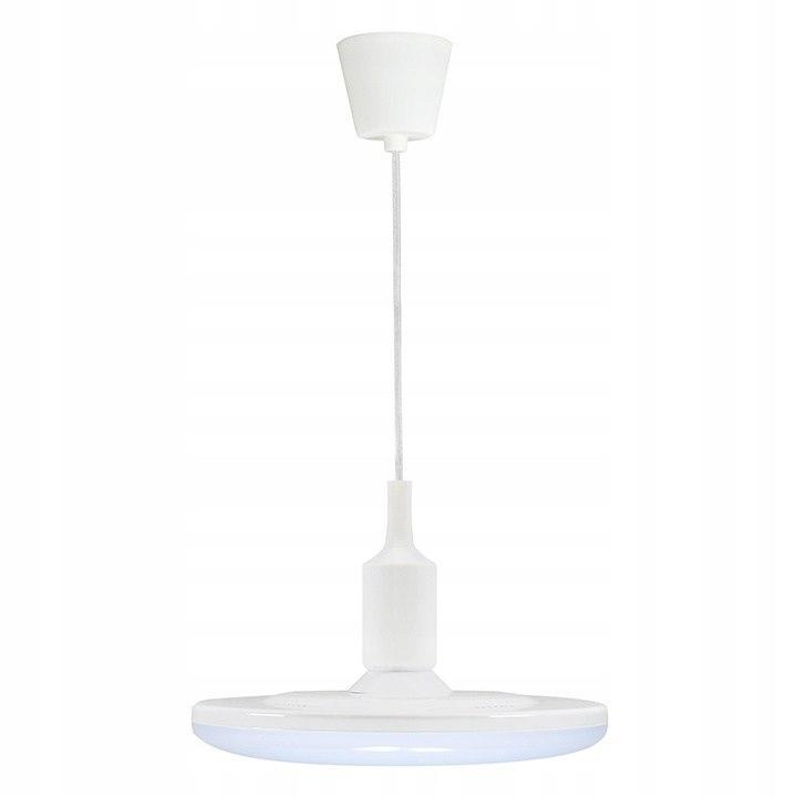 Lampa wisząca żyrandol KOKO LED 23cm biały kuchnia