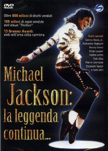 MICHAEL JACKSON - LA LEGGENDA CONTINUA (DVD)