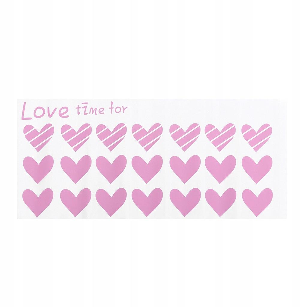 Naklejka na okno Love Heart Samoprzylepne szkło na