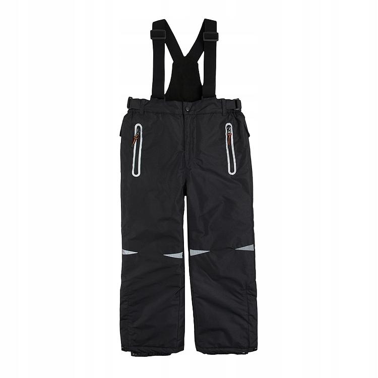 COOL CLUB spodnie narciarskie 104 czarne oddychają