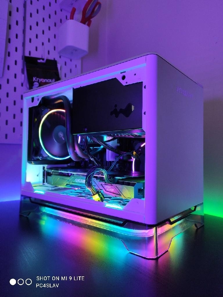 Komputer mini do gier Intel i5 9400F 32GB GTX 1070