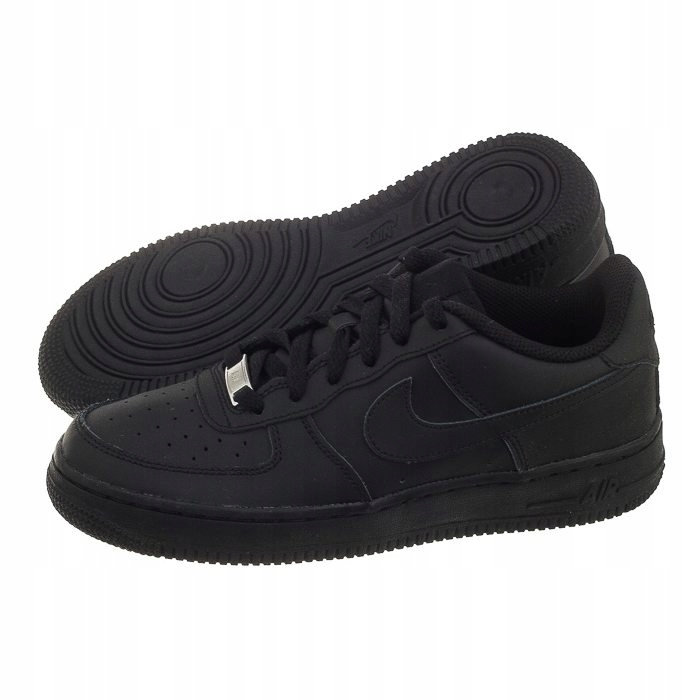 Buty Damskie Nike Air Force 1 GS 314192 009 Czarne