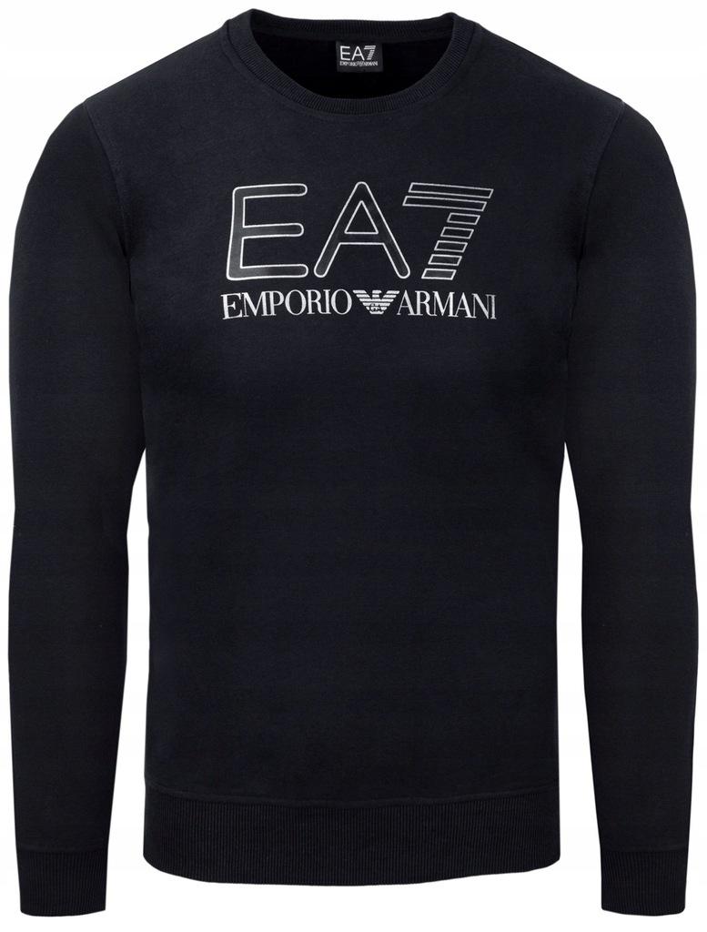 EMPORIO ARMANI EA7 czarna bluza męska r.XL
