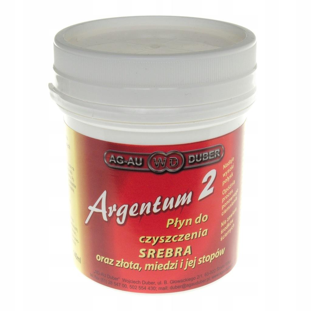 Argentum 2 140 ml Płyn do czyszczenia srebra złota