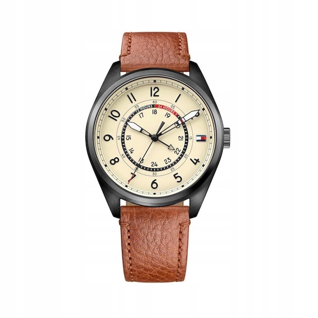 Tommy Hilfiger zegarek męski brązowy
