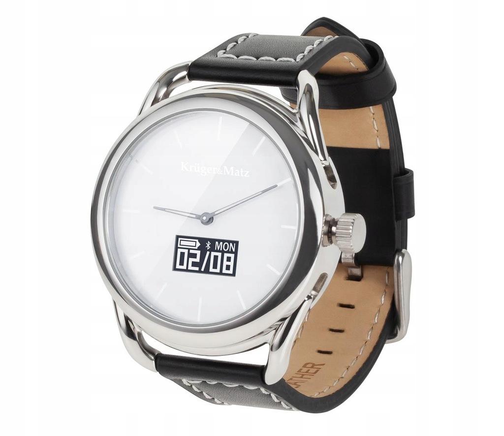 OUTLET Zegarek Kruger&Matz Hybrid srebrny