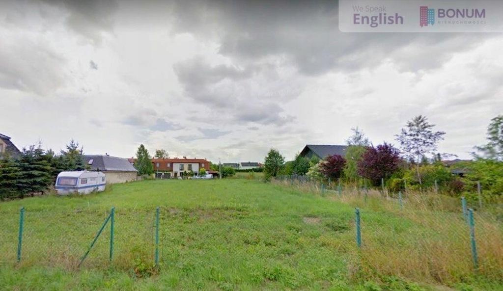 Działka, Bielany Wrocławskie, 1498 m²