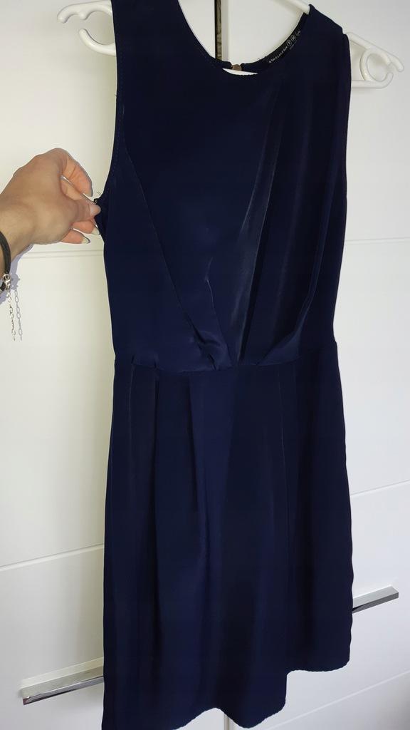 ATMOSPHERE PRIMARK piękna granatowa sukienka xs 34