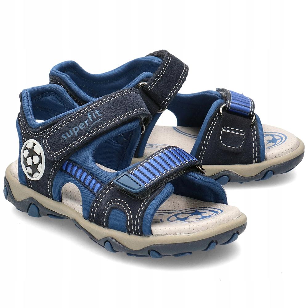 Superfit Granatowe Sandały Dziecięce R.29
