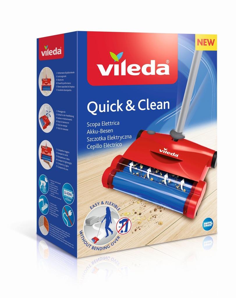 Szczotka elektryczna Vileda Quick & Clean