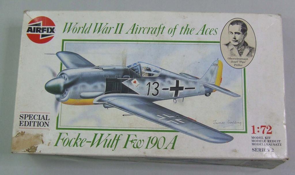 FW 190A Josef 'Pips' Priller Airfix 02085 1/72