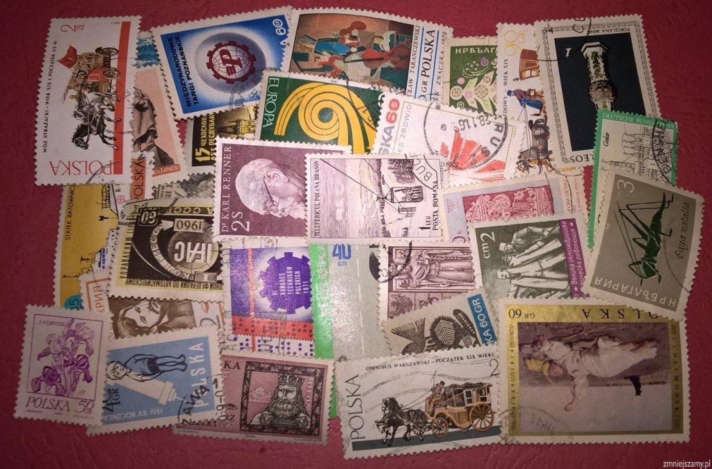 znaczki - 40 sztuk