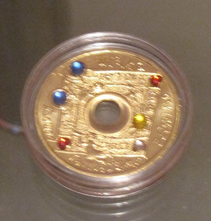 moneta 10 X lat wośp,stan menniczy,nowa,svavorski