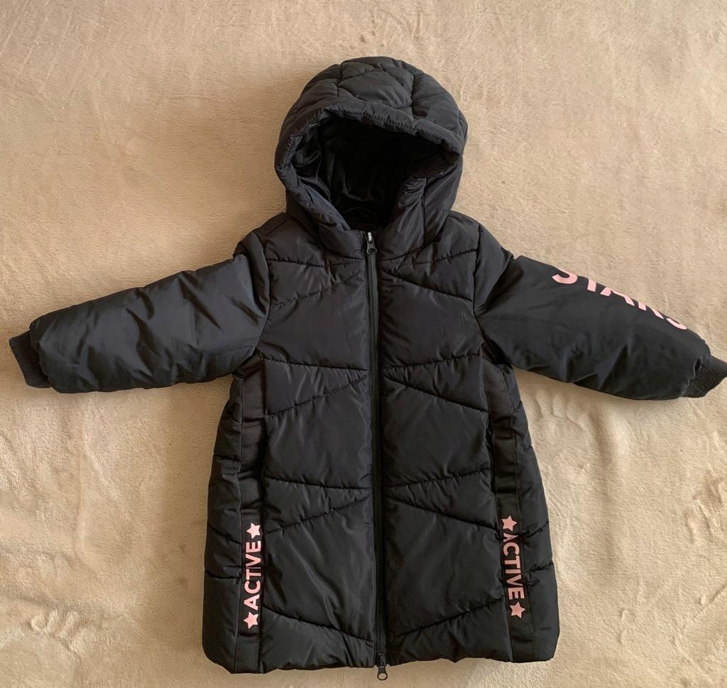 Benetton kurtka zimowa płaszczyk xxs 3 - 4 lata 98