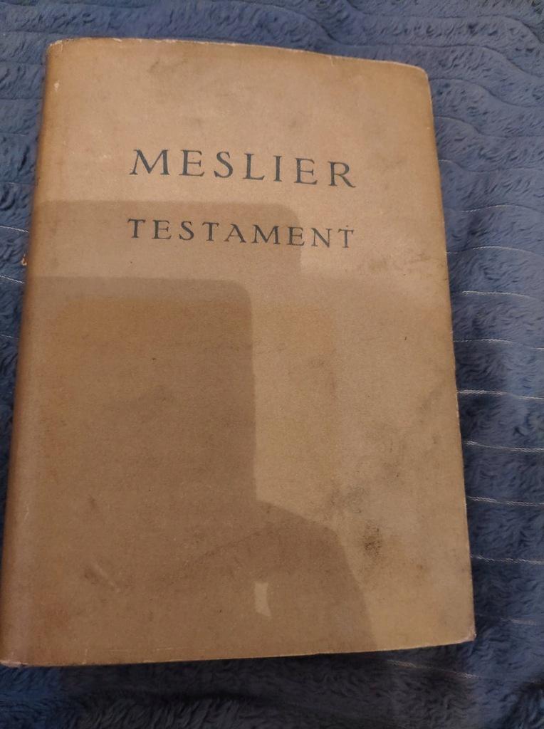 Meslier Testament 1955 PWN