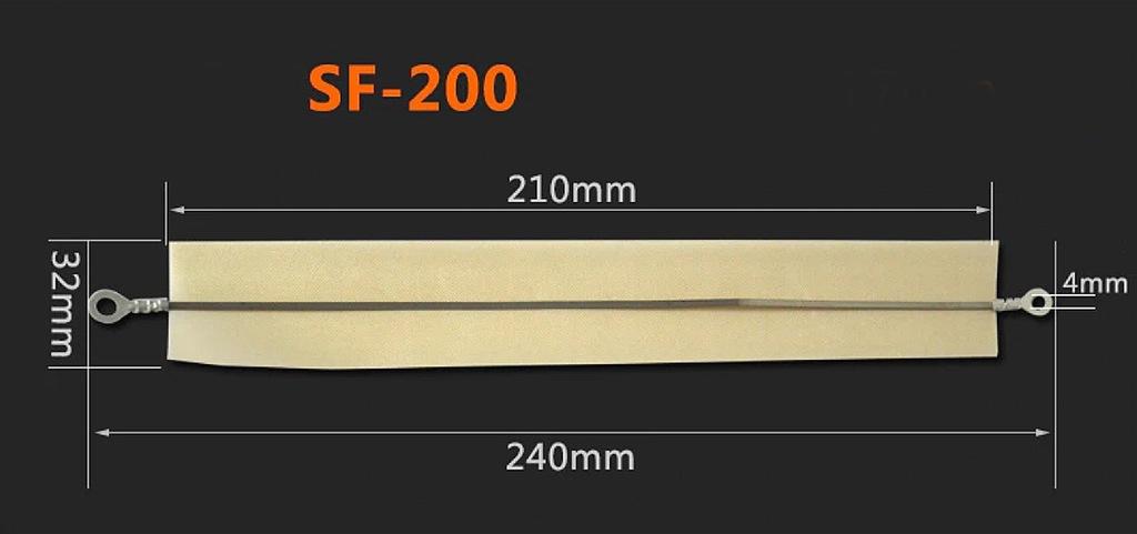 Zestaw naprawczy FS-200 pasek grzewczy+teflonowy
