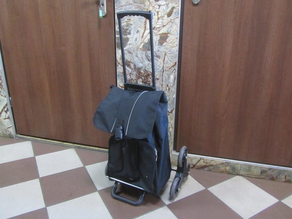 Wózek zakupowy schodowy TCM z Niemiec ZOBACZ !!