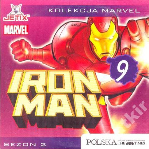 Iron Man. Sezon 2 płyta 9. VCD.
