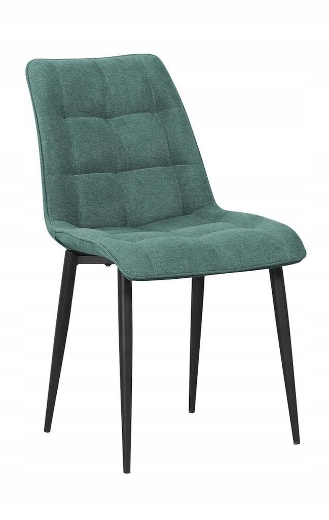 Krzesło MARCO zielony/ noga czarna