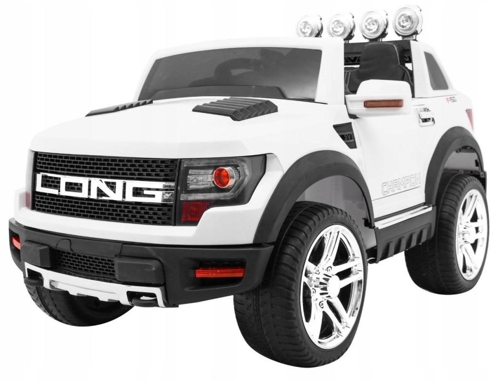Pojazd LONG Biały