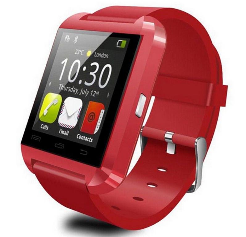Daril Smartwatch zegarek wielofunkcyjny czerwony