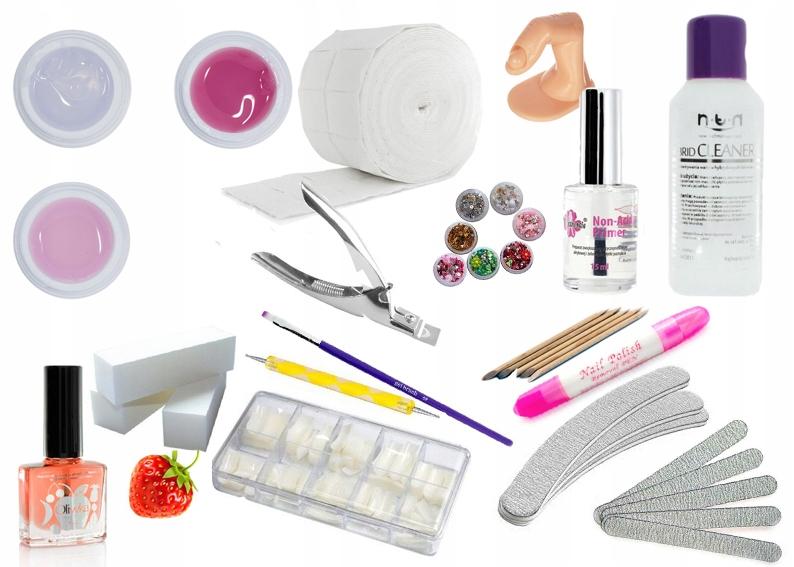 Zestaw Do Paznokci Manicure Zelowy Uzupelniajacy 8269762576 Oficjalne Archiwum Allegro