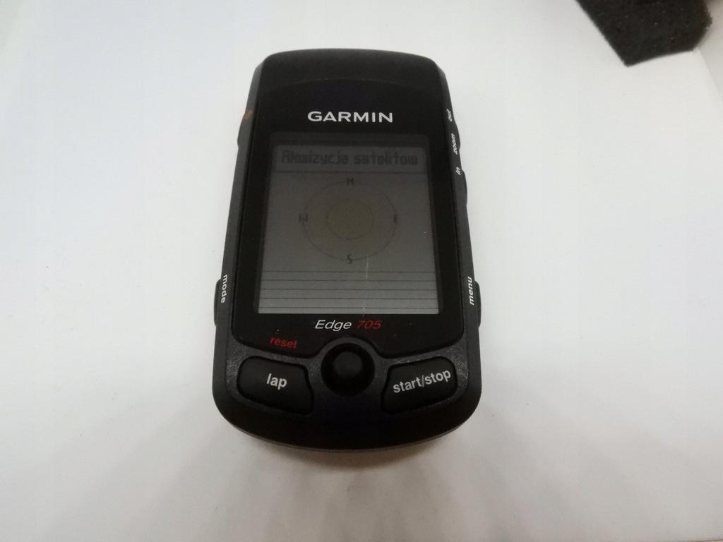 GARMIN EDGE 705 ZAAWANSOWANY LICZNIK GPS USZKODZ.