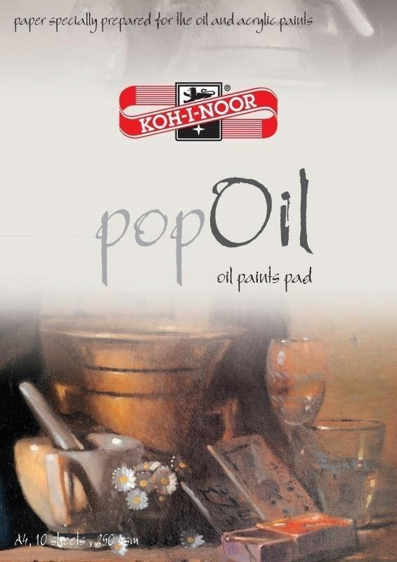 BLOK POP OIL A4/10 ARKUSZY 250G
