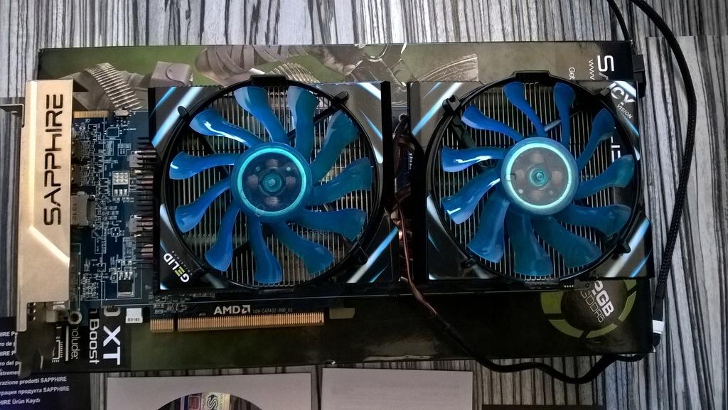 Sapphire Radeon Hd 7870 Xt With Boost 2 Gb Ddr5 9063745152 Oficjalne Archiwum Allegro