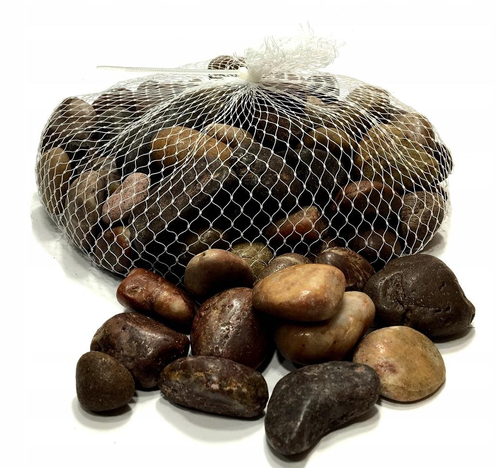 Kamienie Kolorowe Ozdobne do Lasu w Słoiku 1 kg
