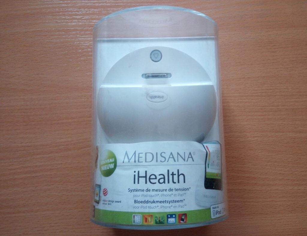 iHeathl do iPhone iPada Medisana ciśnieniomierz