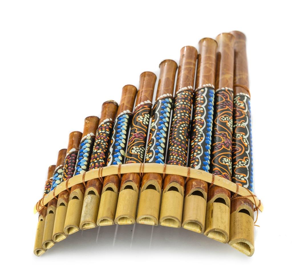 Fletnia Pana 12 Dzwiekow Instrument Etniczny Kolor 7827848301 Oficjalne Archiwum Allegro
