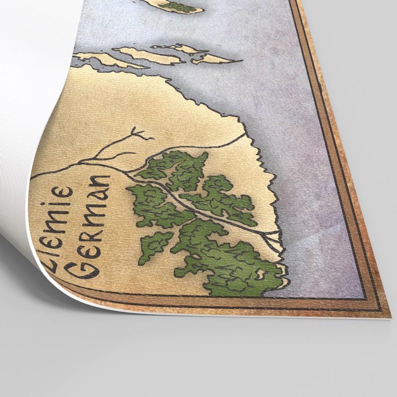 Słowianie - Duża Mapa Slavii