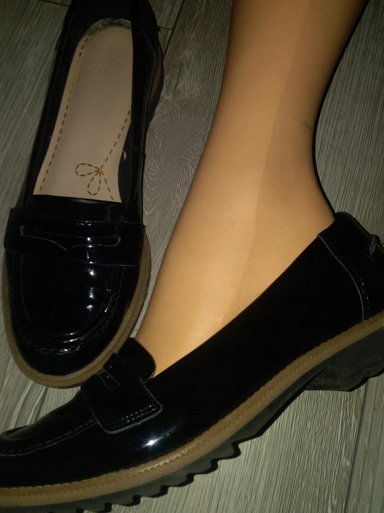 Clarks skóra czółenka buty j nowe