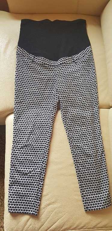H&M Mama spodnie ciążowe 42